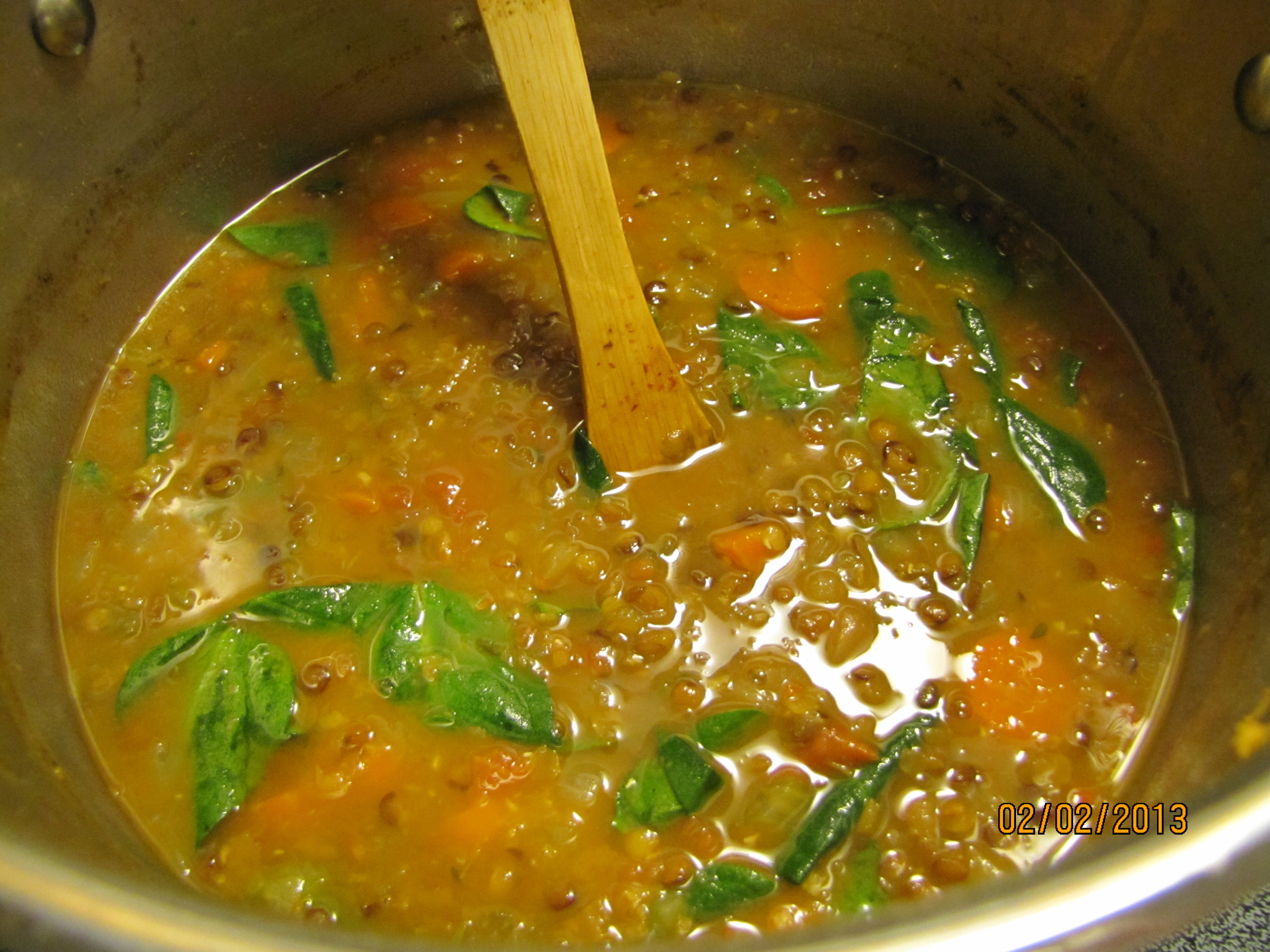 spicy ginger and french lentil lemon ginger lentil soup lemon ginger ...